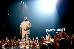 No, Kanye, you can't be president, bruh! (Photo credit: Getty Images)